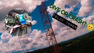Telco tower | Dive or cra$h? | Fpv Freestyle