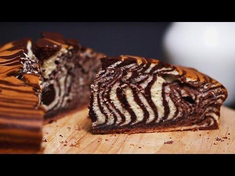 Video Zebra Cake Recipe