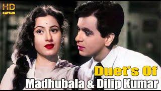 Duets Of Madhuba & Dilip Kumar Superhit Songs | Superhit Hindi Purane Gaano Ka Collection