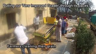 ISEED helps develop Multipurpose Millet Grader by Earth 360