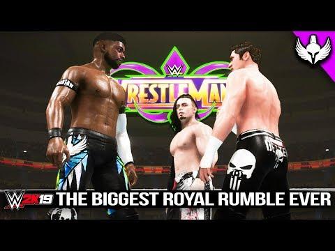 THE BIGGEST ROYAL RUMBLE EVER!!! | WWE 2K19 MyCareer Ep #66