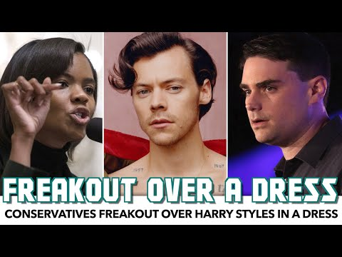 Conservatives Freakout Over Harry Styles Wearing A Dress