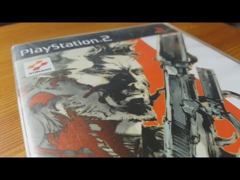 Metal Gear Solid 2: Sons of Liberty - PAL Unboxing