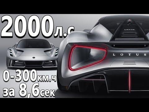 Самый мощный в истории серийный авто! Обзор Lotus Evija