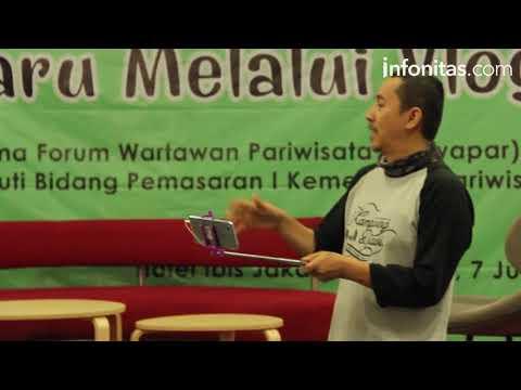 Forwapar Bersama Kementerian Pariwisata Menggelar Workshop Menjadi Vloger