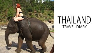 Playing with Baby Elephants & Lantern Festival in Thailand! | Chiang Mai Travel Diary