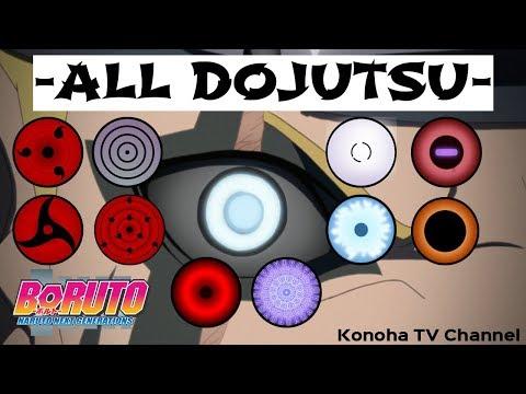 All Dojutsu In Naruto And Boruto New Boruto Uzumakis Dojutsu