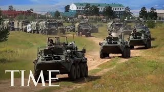 Russia Launches Biggest Ever War Games With China In A Warning To U.S. | TIME