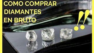 Como Comprar Diamantes En Bruto  Mercado De Diamantes  Comercio De Diamantes