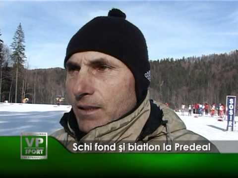 Schi fond şi biatlon la Predeal