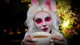 ASMR   The Mad Hatters Tea Party - The White Rabbit (Collaboration)