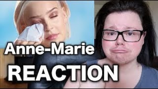 Anne   Marie   Perfect To Me Music Video | REACTION