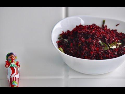Beetroot Thoran/Kerala Beetroot Poriyal /Vishu Special -Recipe no 126