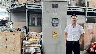 Tủ Hạ Thế Solar ACB 1600A Mitsubishi, LS cho dự án Năng lượng mặt trời