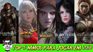 🐼🎮TOP 5 MMORPGS para se jogar em 2018 - Pros e Contras de cada!🐼🎮