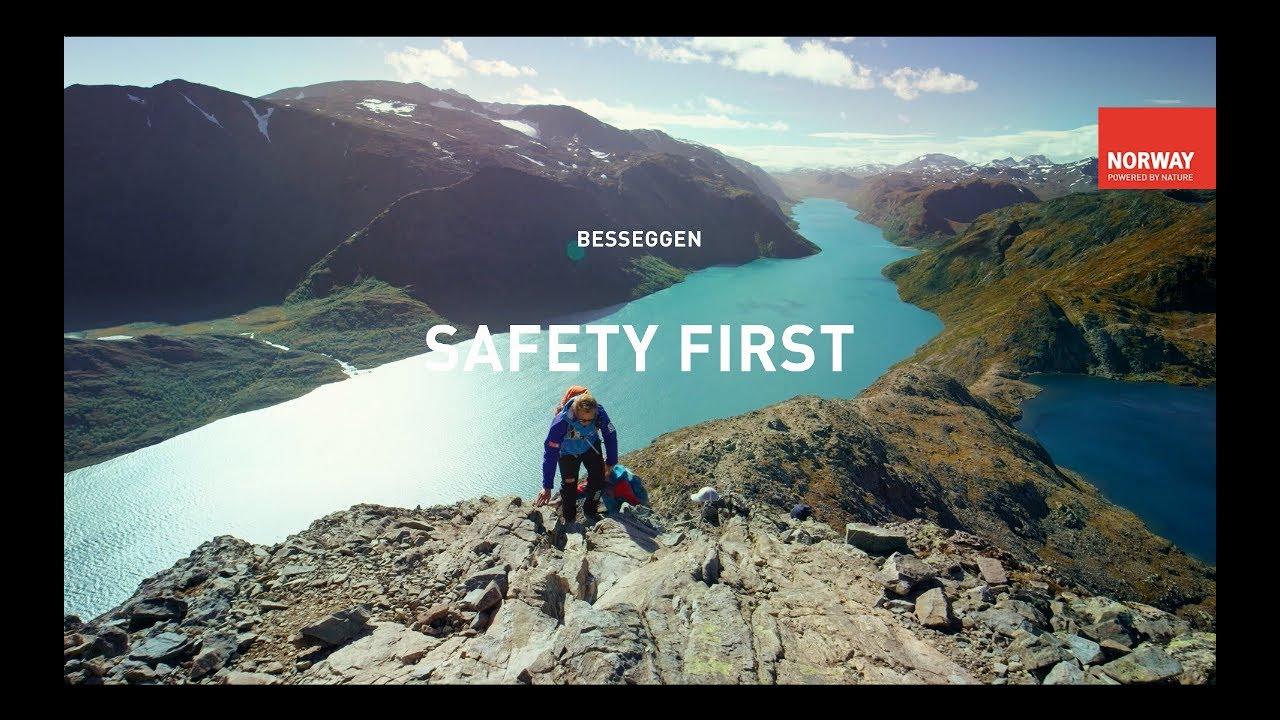 Hiking the Besseggen Ridge
