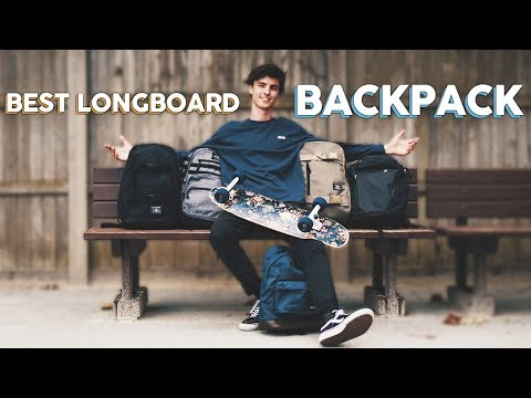 what's the BEST LONGBOARD BACKPACK?!