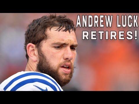 Andrew Luck Retires!   NFL News