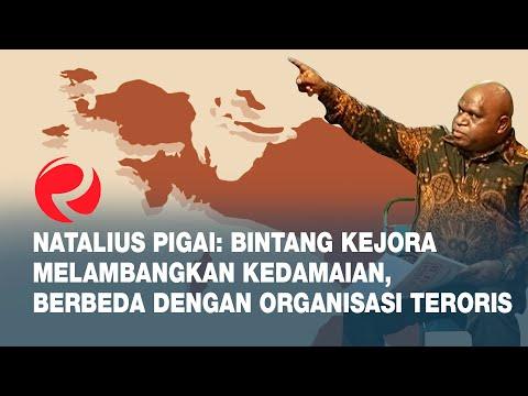 Natalius Pigai: Bintang Kejora Melambangkan Kedamaian, Berbeda dengan Organisasi Teroris