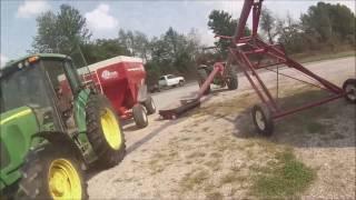 From field to the grain bin. Corn Harvest 2016