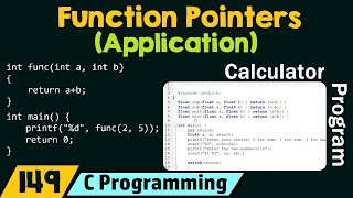 Application of Function Pointers in C