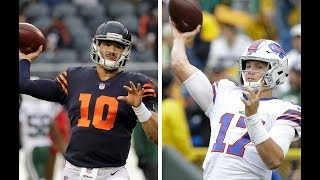 Blueprint for success for Bills with Josh Allen could be like Bears with Mitchell Trubisky