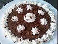 Flan de queso con chocolate/recetas al microondas