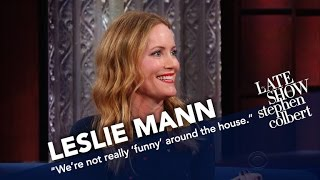 Download Youtube: Leslie Mann Doesn't Think Husband Judd Apatow Is Funny