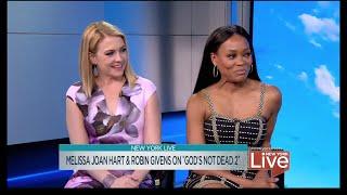 <b>Melissa Joan Hart </b>& Robin Givens On Gods Not Dead 2