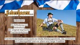 Lederhosen und die Herkunft der bayrischen Trachtenlederhose