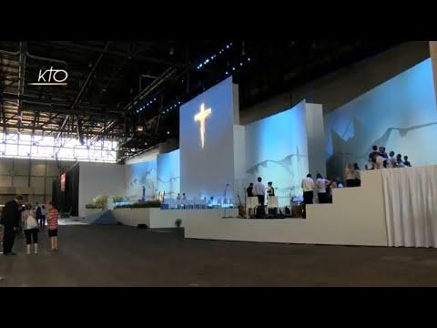 Pape en Suisse : les derniers préparatifs avant la messe