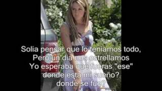 Ashley Tisdale - Be good to me (spanish)