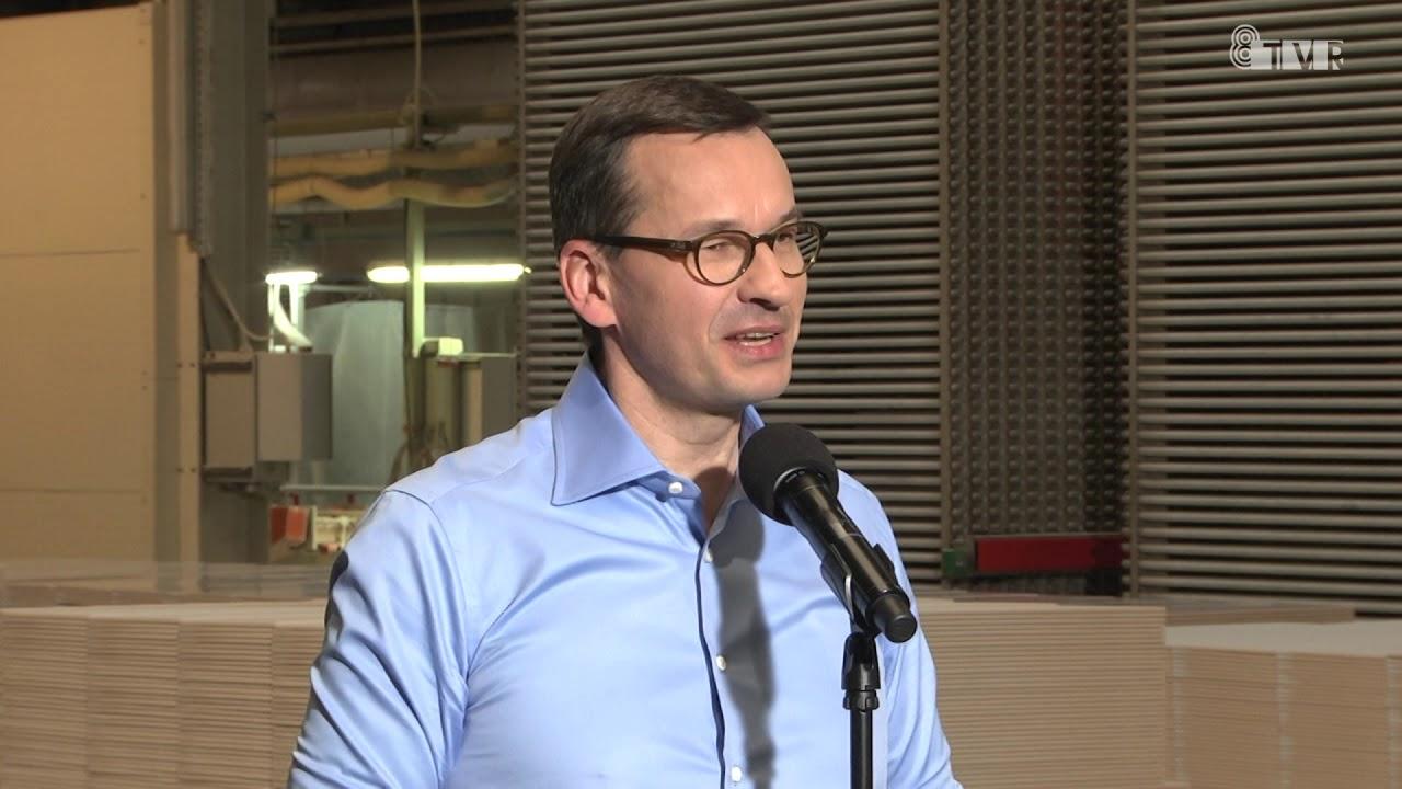 Wizyta premiera Mateusza Morawieckiego w województwie łódzkim