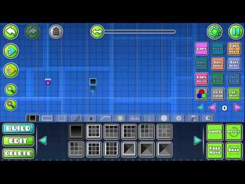 GD 2.1 Editor Tutorial | Cómo usar el orbe cuadrado (How to Use Square Orb)