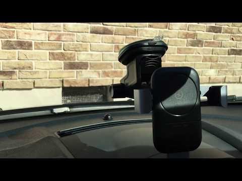 Auto PKW Handyhalterung mit 10 Watt  Induktiver Ladestation Qi Iphone X , Samsung S9 , 8, usw.