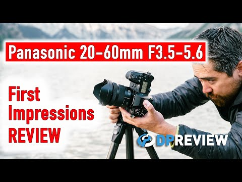 External Review Video wQ5ysLPK-34 for Panasonic LUMIX S 20-60mm F3.5-5.6 Lens (S-R2060)