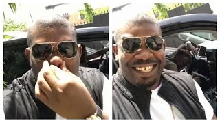 Don Jazzy hilariously jamming to Tiwa Savage's new smash hit hit All Over