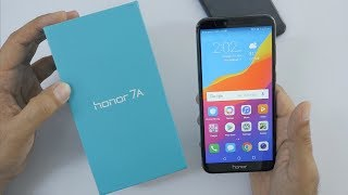 Huawei Honor 7A Unboxing & Overview & Camera Comparison with Redmi 5