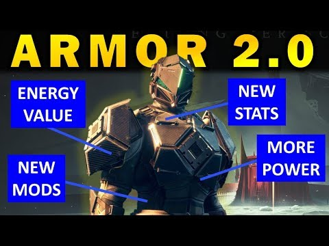 Destiny 2: How ARMOR 2.0 Works in Shadowkeep!