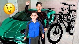 Dad Surprises Us With New Bikes, Andrews Was Stolen! Vlog