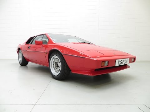 A Sensational And Cherished Lotus Esprit Series 3 With Only 42,913 Miles From New - SOLD!