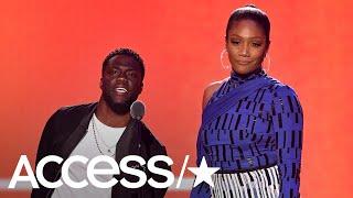 Kevin Hart & Tiffany Haddish Throw Serious Shade At The 2018 MTV VMAs! | Access