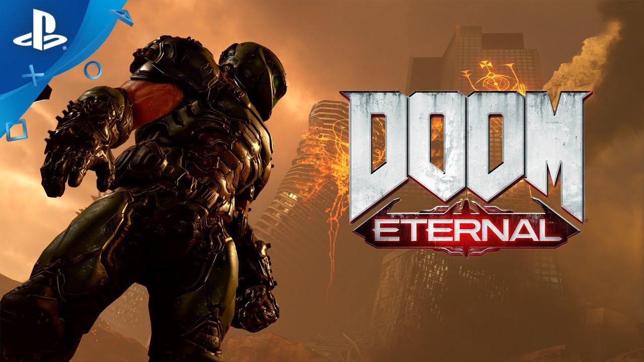 Gana una PS4 Infernal y 12 meses de suscripción a PS Plus con Doom Eternal