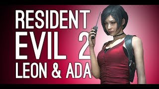 Resident Evil 2 Remake Gameplay: Leon and Ada Wong - Let's Play Resident Evil 2 Remake