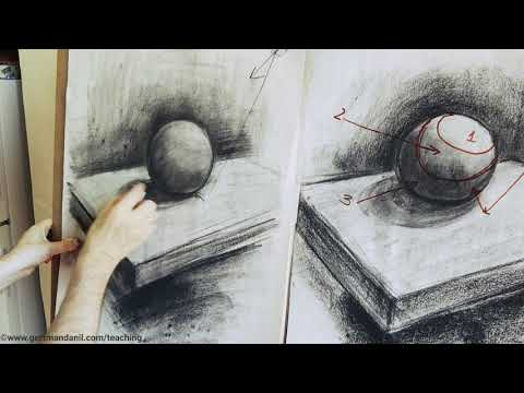 Light and Shading. Drawing Basics. Short.
