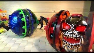 БОЕВЫЕ ГОЛОВЫ - игрушка на пульте -  Head Shotz - Silverlit - Битвы Роботов