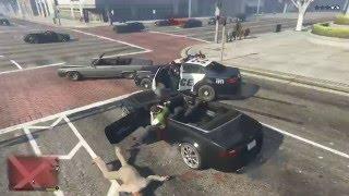 Hai anh em chơi GTA 5 #11 - Náo loạn đường phố, cướp xe buýt :)