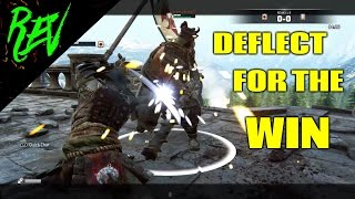 For Honor - (Daily Duels #9) - OROCHI Gameplay - DEFLECT FOR THE WIN