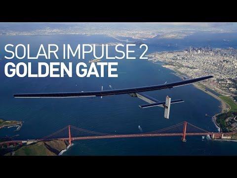Zobacz niezwykły przelot samolotu Solar Impulse 2