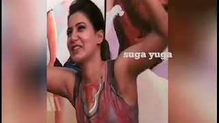 actress samantha hot armpit